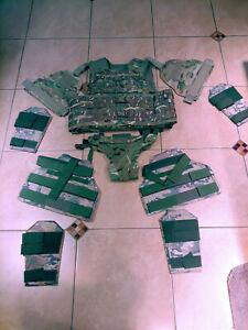 full load out !! Tactical lvl IIIA Large ballistic vest lvl IIIA body armor