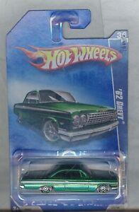 Hot Wheels 2008 Tout Stars '62 Chevy Vert