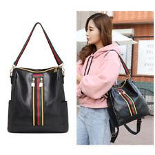 Fashion Women Backpack Travel Shoulder Bag Girls Rucksack PU Leather School Bags