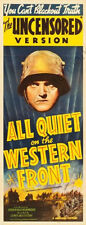 All Quiet On The Western Front Movie Poster Insert 14x36 Replica
