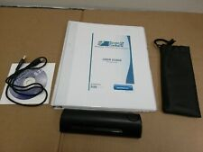 CSSN ScanShell 800N Portable USB Card Scanner w/ Cable/CD/Case/Calibration Paper