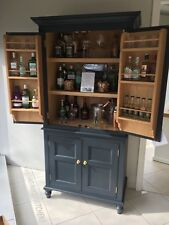 Victorian Style Bespoke Drinks Cocktail Cabinet Double Doors