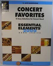 Hal Leonard Concert Favorites Essential Elements 2000 Vol.2 Eb Alto Saxophone