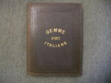 Gemme d'Arti Italiane. by Ripamonti Carpano, Paolo, (edited by)