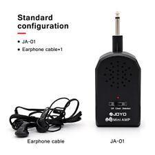 JOYO JA-01 Guitar Amplifier w/ Distortion Effect MP3 Headphone AMP 3.5mm Jack