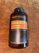 Amazon Elements Vitamin C 1000 mg Dietary Supplement - 300 Tabs EXP 11/21 NEW