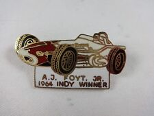 1964 A.J. Foyt Indianapolis 500 Winner Collector Lapel Pin Sheraton Thompson