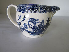 Willow Pattern Creamer Made in England