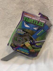 TMNT Teenage Mutant Ninja Turtle Leonardo Combat Gear Nickelodeon Playmates Toys
