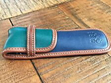 Vintage Coach Brand Leather Pen Case Special Edition 1996 Olympics