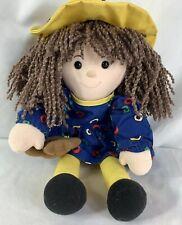 Eden Madeleine Madeline Plush Rag Doll Toy Removable Dress 15�