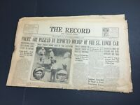 October 9 1929 The Record Stroudsburg PA Newspaper Chicago Cubs Fatty Arbuckle