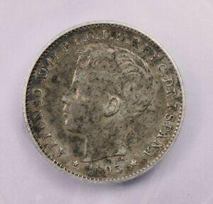 1895 Puerto Rico 20c ICG EF40