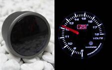 voltios voltaje pantalla voltímetro 52mm 8-18v fumar LINE BLANCO motor stepper