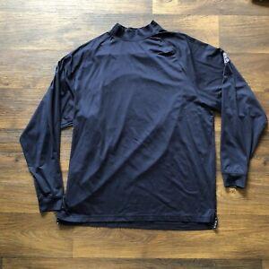 Men's Footjoy Long Sleeve Pullover Shirt Mock Neck Size XL