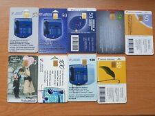 Telephone phonecards Lithuania - lot of different 9 cards