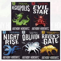 Anthony Horowitz Collection Power of Five Series 5 Books Set Pack NEW Raven's Ga