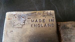 vintage elwell  axe tomahawk hatchet