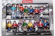 Carrera 21128 Spectator Figure Set Of 15 New In Display Box For 1/32 Slot Layout