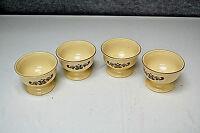 Pfaltzgraff Village Pattern - China Sherbet Dishes - Set of 4 (S5402)