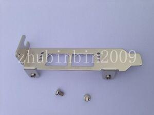 Low Profile Bracket for Qlogic QLE2562; HP AJ764A, 489191-001; IBM 42D0501