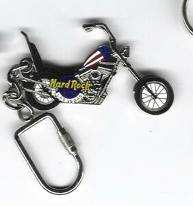 Hard Rock Key Chain Las Vegas Hotel Chopper Bike A1