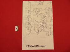 Bedienungsanleitung Pentacon Super Scheme