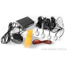 Parking Sensors, Reverse Rear, Aid Kit with Audio Buzzer Silver