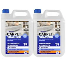 Carpet Shampoo ANTI-BAC Low Foaming Concentrated PRO Solution All Machines 10L
