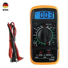 Digital LCD Multimeter Messgerät AC DC Strommesser Strom Voltmeter Amperemeter
