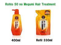50 no Megumi Hair Moist Treatment Rohto Japan 400ml / refil 330ml