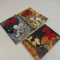 Jeff Smith Bone Lot of 3 Graphic Novels #1 #5 #6 Softcover Comic Books