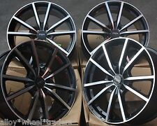 "17"" Cerchi in lega BMF fx10 Fit 5x98 ALFA ROMEO 147 156 164 GT FIAT 500l DOBLO"