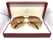 RARE!! CARTIER Vendome LAQUE Vintage Eyeglasses / Sunglasses with Case!! santos