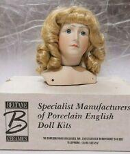 English PORCELIAN DOLL MAKING KIT Head Legs Arms Beltane Ceramics, Boxed Nos 232