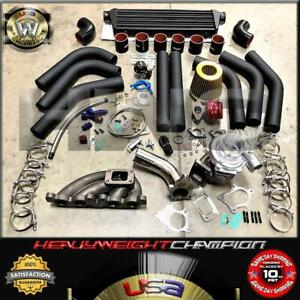 90-95 Toyota MR2 / 88-99 Celica MR2 3S-GTE Turbo Charger Kit T3/T4 Manifold+Bov