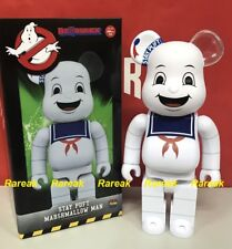 Medicom 2017 Be@rbrick Ghostbusters 400% Stay Puft Marshmallow man Bearbrick 1pc