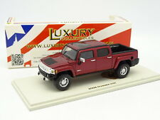Luxury Collectibles 1/43 - Hummer H3T Pick Up 2008 Rouge