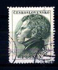 CZECHOSLOVAKIA - CECOSLOVACCHIA - 1949 - 150° Compleanno di Aleksandr Pushkin