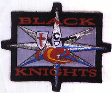 Babylon 5 Embroidered Black Knights Squadron Patch