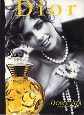 PUBLICITE ADVERTISING   1981   DIOR      cosmétiques senteurs ITALIENNES