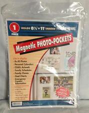 30 x Freez-A-Frame 8-1/2 x 11 Magnetic Photo Pockets 1-pack Bulk Sale Free Ship