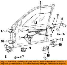 Jeep CHRYSLER OEM 93-98 Grand Cherokee Front Door-Lock Latch Kit 4798915AC