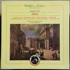 Serafin - Verdi Aida 3 LP Mint- 3C 163-00429/31 Italy Stereo w/Book & 9 Inserts