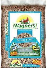 13008 Deluxe Blend Wild Bird Food, 10-Pound Bag (Wagner's)