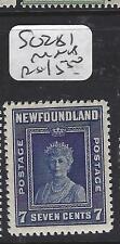 NEWFOUNDLAND   (PP1208B)  7C   QUEEN MOTHER SG 281   MNH