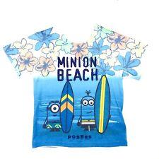 Universal Studios Toddler Boys Despicable Me Graphic T Shirt Size 2T White Blue