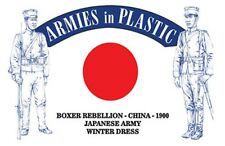 Armies In Plastic 1/32nd Boxer Rebellion China 1900 Japanese Army Set 5614 New!