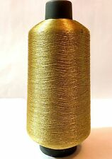 GOLD & SILVER THREAD YARNS METALLIC EMBROIDERY CONES 10,000 METERS BEST QUALITY