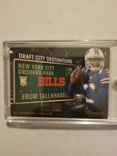 EJ Manuel Panini National VIP #d 1/2 (Very Rare)